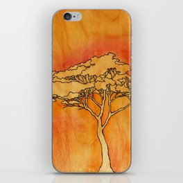 Wooden Tree iPhone Skin