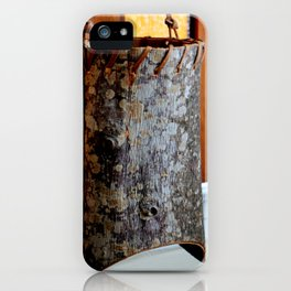 Barking Up The Right Tree iPhone Case