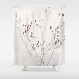 WILDFLOWERS NATURAL BEIGE 1 Shower Curtain