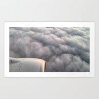 Engine And Grey Art Print