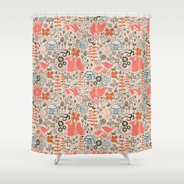 Camel shower curtains society6 mongolian expanse pattern shower curtain gumiabroncs Images