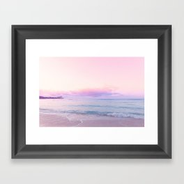 tropical,tropical ver.pink Framed Art Print