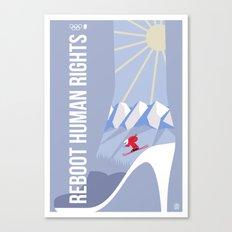 Winter games Canvas Print