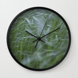 Grass abstract Wall Clock