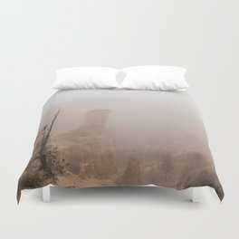 Bryce Canyon Obscured Duvet Cover