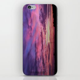 Wind Energy Sunrise iPhone Skin