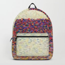 Speckly Rainbow Field Horizon Backpack