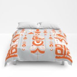 Danish Sun Birds and Flowers Comforters