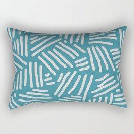 Stripes - geometric pattern Rectangular Pillow