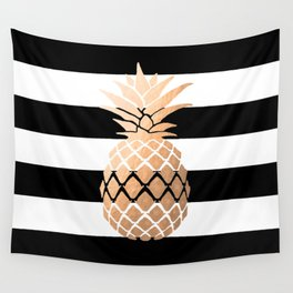 Pineapple Vibes Wall Tapestry