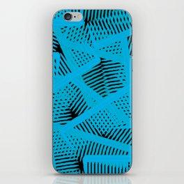 Combs In Blue  iPhone Skin