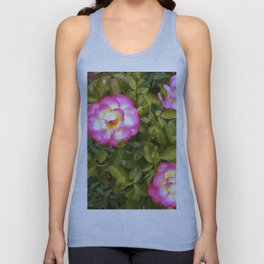 Floral Print 041 Unisex Tank Top