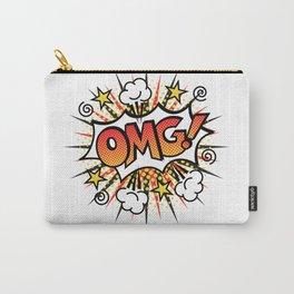 Pop Art OMG! Text Design Carry-All Pouch