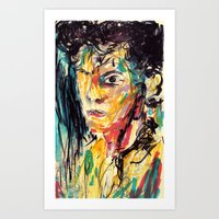 the strokes Art Prints featuring Strokes by Jason Ngai