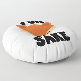 FOR FOX SAKE Floor Pillow