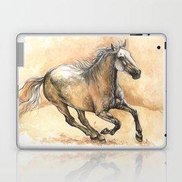 Running lusitano Laptop & iPad Skin