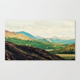 Denali Mountains Canvas Print