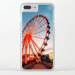 Sunset in Maryland Clear iPhone Case