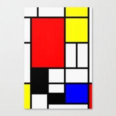 Mondrian Art Canvas Print