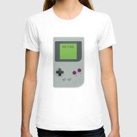 gameboy T-shirts featuring Retro Gameboy by Alex Boatman