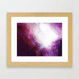 The Ocean of a Galaxy Framed Art Print