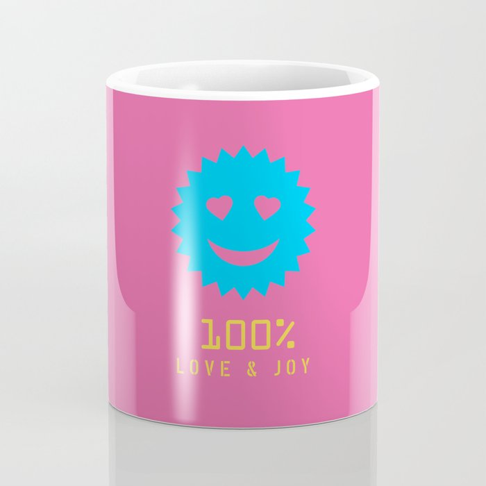 Kurcho - 100% Love & Joy Coffee Mug