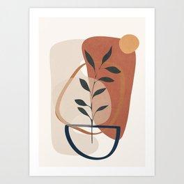 Branches Design 06 Art Print