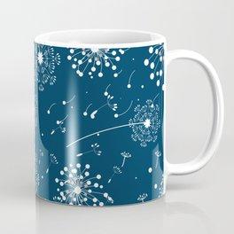 White blew-ball pattern Coffee Mug