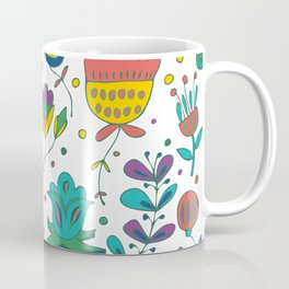 Flowers, flower meadow, nature Coffee Mug