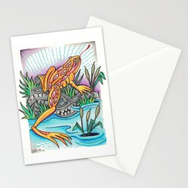 Freak Frog Stationery Cards