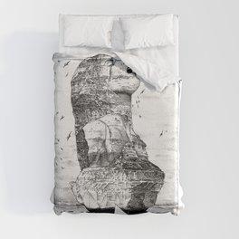 asc 757 - La nostalgie est une île (The remains) Duvet Cover
