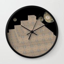 Pyramide Grotesque 1 Wall Clock