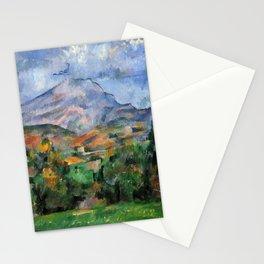 """Paul Cezanne """"Mont Sainte-Victoire"""", c.1890 Stationery Cards"""