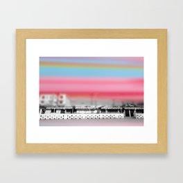 Off season Framed Art Print