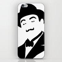 hercules iPhone & iPod Skins featuring Hercules Poirot by b & c