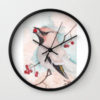 bohemian Wall Clocks featuring Bohemian by Tanya HD
