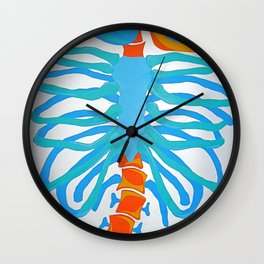 Bone Machine Wall Clock