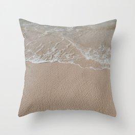 Seaside in Paia // Maui Throw Pillow