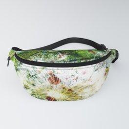Springtime dandelion Fanny Pack