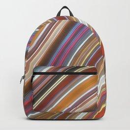 Wild Wavy Lines II Backpack