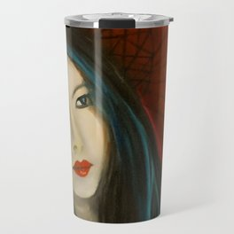 Beauty in Red with Paraol Travel Mug