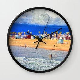 LA  Beachead Wall Clock