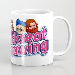 Backseat Drawing Logo Coffee Mug