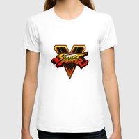 street fighter T-shirts featuring street fighter 5 by Hisham Al Riyami