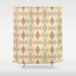Diamond Slide - Optical Series 004 Shower Curtain
