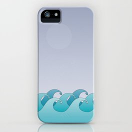 Waves in the Ocean iPhone Case