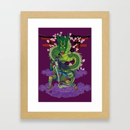Yimei guardian of dreams Framed Art Print