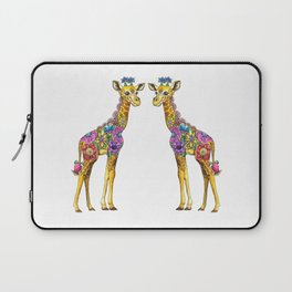 Geraldine the Genuinely Nice Giraffe Laptop Sleeve