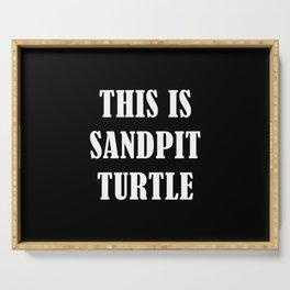 This is Sandpit Turtle (Sempiternal)- Emo, Alt, Scene, Emo Kid, Screamo, Metal, Deathcore, Metalcore Serving Tray