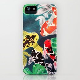 Meeting by the Lotus iPhone Case